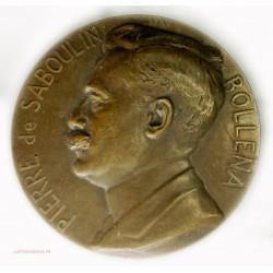 Médaille  Cie Messageries Maritimes P. de SABOULIN BOLLENA par A.Maillard 1930