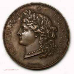 Médaille Cérès REPUBLIQUE FRANCAISE par C. TROTIN, lartdesgents.fr