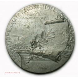 Médaille étain Exposition de la Cité reconstituée 1916