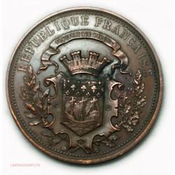 Médaille Maurice BARRES - Colette BAUDOCHE par HENRY NOCQ 1918