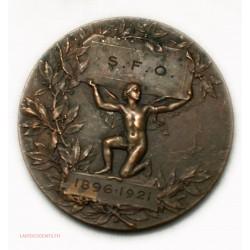 Médaille S.F.O 1896-1921 par H. DUBOIS