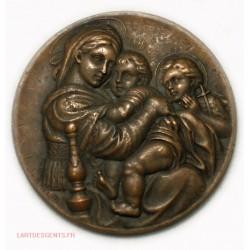 Médaille RAPHAEL par F. ANGEL, l'art des gents Avignon
