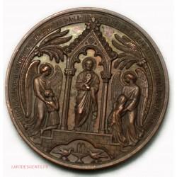 Médaille première communion 18.. par Arthur Martin C. ANGER