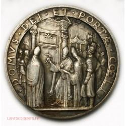 Ancienne Médaille PIUS XII an IV 1901, DOMVS DEI ET PORTAE COELI