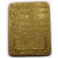 MEDAILLE plaque école prof. de la Bijouterie par F. RASUMNY