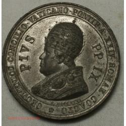 Ancienne Médaille PIUS IX, CONVENERVNT: APOSTOLI ET SENIORES