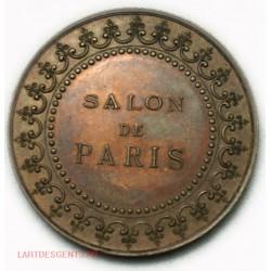 MEDAILLE JETON SALON DE PARIS, Flvctvat nec mercitvr par C.T