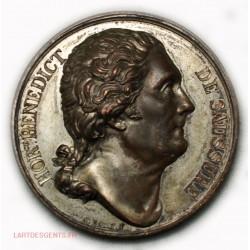 Médaille B. De Saussure, personnage Illustre 1823 par Bovy