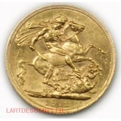Souverain, Souvereign Georges V 1912, lartdesgents.fr