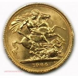 Souverain, Souvereign Victoria 1864 die 88, lartdesgents.fr