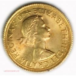 Souverain, Souvereign Elisabeth II 1964, lartdesgents.fr