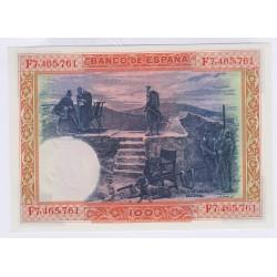 BILLET D'ESPAGNE 100 PESETAS NEUF 1925 L'art des gents Avignon