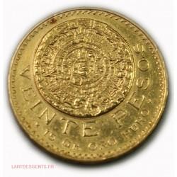 Mexique - 50 Pesos or/gold 1821/1947, lartdesgents.fr