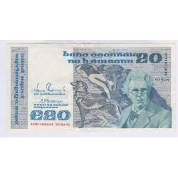 BILLET IRELAND REPUBLIQUE 1 POUND 1979 L'ART DES GENTS AVIGNON