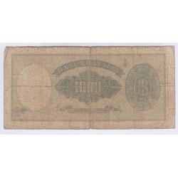 BILLET ITALIE 1000 LIRE 1959 L'ART DES GENTS NUMISMATIQUE AVIGNON