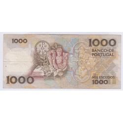 BILLET DU PORTUGAL 1000 ESCUDOS 1986 L'ART DES GENTS NUMISMATIQUEAVIGNON