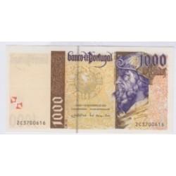 BILLET DU PORTUGAL 1000 ESCUDOS 2000 SPL L'ART DES GENTS NUMISMATIQUE AVIGNON