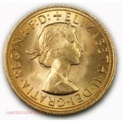 Souverain, Souvereign Elisabeth II 1967, lartdesgents.fr