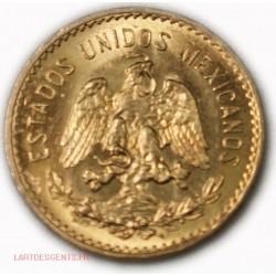 Mexique - 5 Pesos or/gold 1945, lartdesgents.fr