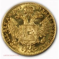 Autriche Österreich Ducat Or Gold Franz Joseph I 1915