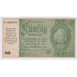 Autriche 50 reichsbank 1945 SALZBURG P.189a UNC L'ART DES GENTS AVIGNON