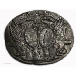 Médaille uniface type grec antique