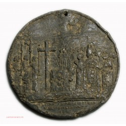 rare Médaille Cathédrale of St Johnson Newfoundland 1841