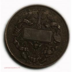 Médaille  Saint Vincent de Paul 1877 expo industrie par O. TROTIN