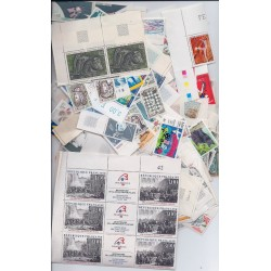 Détails sur lot de 100 Euros de timbres neuf Faciale en FRANCS à -40% port inclus France
