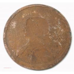 rare Médaille uniface Bienheureuse Jeanne d'Arc 1412-1431 par Paul DORIZE