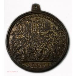 Médaille uniface Démolition de la Bastille, médaille distribuée aux électeurs de Paris, 1789 Paris