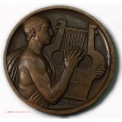 Médaille joueur de Lyre (la Nationale 1953) par Georges GUIRAUD