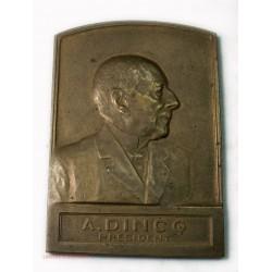 Médaille A. DINCQ Président 1923, Mines de BRUAY par A. MAYEUR
