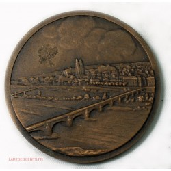 Médaille VILLE DE TOURS, lartdesgents.fr Avignon