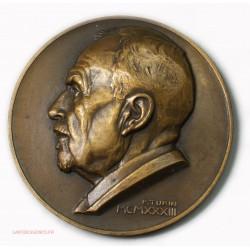 Médaille Gabriel HANOTAUX Affaires étrangères 1933 par P. TURIN