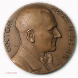 Médaille Dr Pierre DESCLAUX Prof à la fac de médecine Paris par TURIN