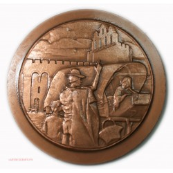 Médaille Les Saintes Maries de la mer 1967 EE/100 épreuve d'éditeur