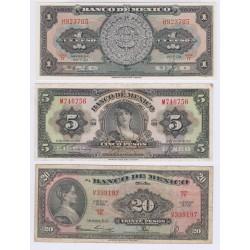 Mexique 20 Pesos Pick S705