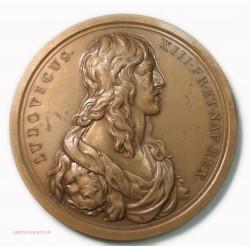 Médaille LOUIS XIII Ortvs Solis Gallici 1973 par Molart.F