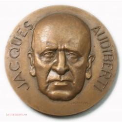 Médaille Jacques AUDIBERTI par LAGRIFFOUL, lartdesgents.fr AVIGNON