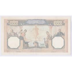 1000 Francs Cérès et Mercure 23 Mai 1940 SUP