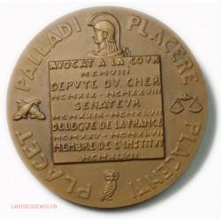 medaille Marcel PLAISANT 1947 par POPINEAU