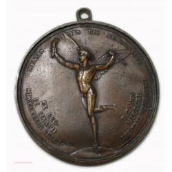 Médaille uniface inauguration de la colonne de juillet, 1840 Paris par CAUNOIS