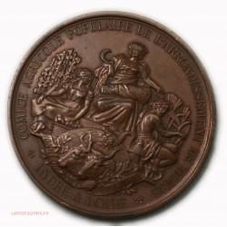 Médaille comice Agricole de TOURS Indre et Loire, lartdesgents.fr