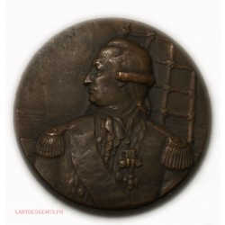 Medaille Cie Gle Transatlantique Paquebot de Grasse par M. DELANNOY