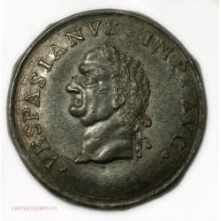 Medaille uniface  VESPASIANUS IMP AVG, lartdesgents.fr Avignon