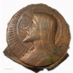 Médaille uniface épreuve d'auteur? JESUS, lartdesgents.fr