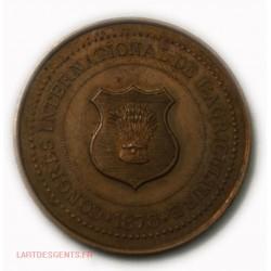 Médaille Ste des Agriculteurs de France 1878, lartdesgents.fr