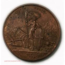 Médaille Italie retour de Victorio Emanuel à TURIN, XX NOV 1815 -lartdesgents.fr