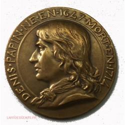 Médaille Denis PAPIN Syndicat des Ind. Mécaniques de France 1839 par Daniel DUPUIS